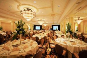 The Roosevelt New Orleans banquet hall