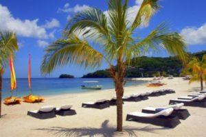 Buccament Bay Resort Beach