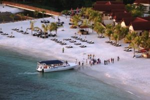 Buccament Bay Resort boat rides