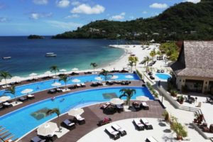 Buccament Bay Resort pool
