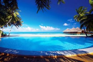 Medhufushi Island Resort pool