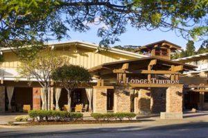 The Lodge at Tiburon entrance