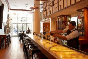The Strand Hotel bar
