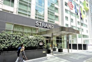 The Strand Hotel exterior view