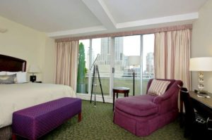 The Strand Hotel guestroom