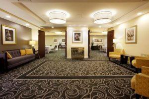 The Strand Hotel lobby