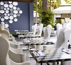 Viceroy Santa Monica outdoor dining