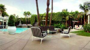 Viceroy Santa Monica pool terrace