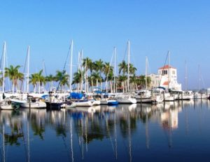 Bradenton Florida downtown riverwalk marina