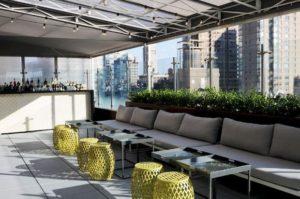 Hotel Indigo NYC Chelsea terrace patio