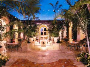 The Breakers courtyard