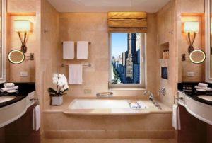 The Peninsula New York guest Bathrooms