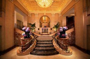 The Peninsula New York lobby