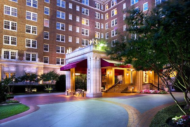 The Warwick Melrose Hotel a historic Dallas landmark