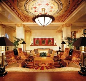 Warwick Melrose Hotel Lobby