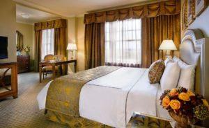 Warwick Melrose Hotel guestroom