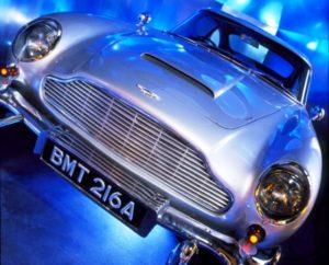 Spy museum bond Aston Martin DB5 car