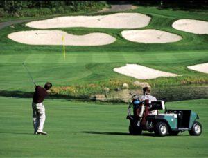 Minnesota golfing