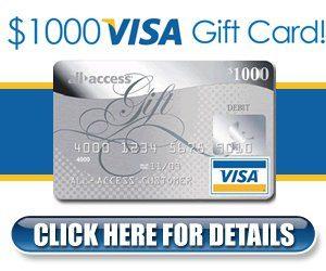 Visa gift card 1000