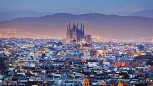 Barcelona city views