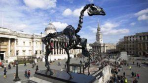 Trafalgar Square Horse skeleton