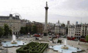Trafalgar Square garden
