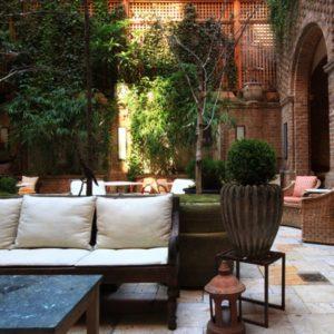 Greenwich Hotel outdoor patio