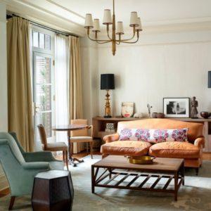Greenwich Hotel suite
