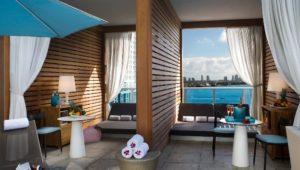 EPIC Hotel cabanas