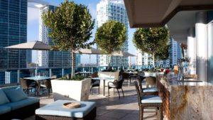 EPIC Hotel outdoor restaurant