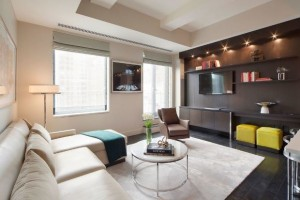 The Marmara Park Avenue living room