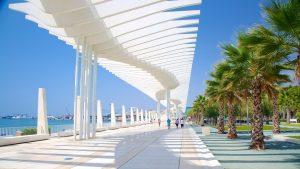 Malaga marina Spain
