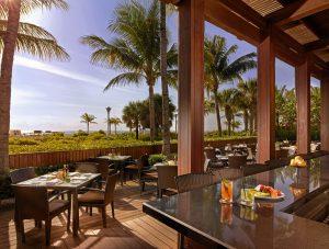 The Satai outdoor dining