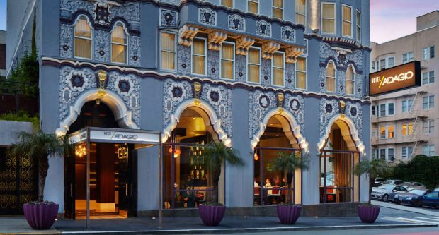 The Stylish Hotel Adagio San Francisco