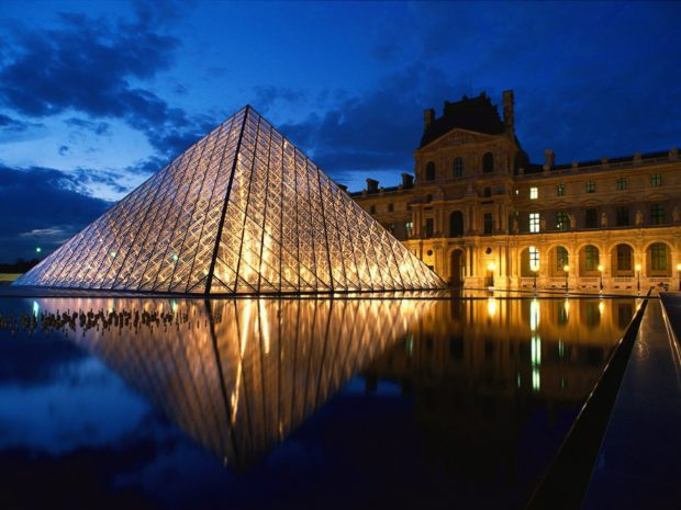 Louvre Museum Paris romantic