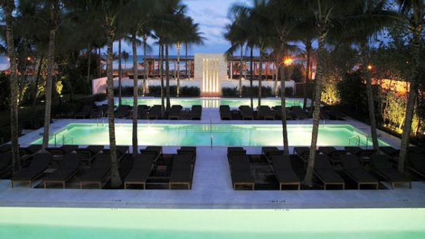 The Setai pool Miami Beach