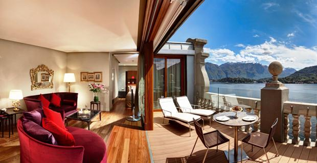 Grand Hotel Tremezzo rooftop suite