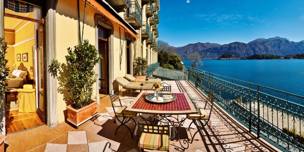 Grand Hotel Tremezzo suite terrace