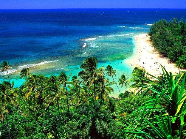 Kee Beach Kauai Hawaii