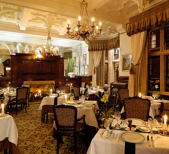 The Milestone Hotel Dining room