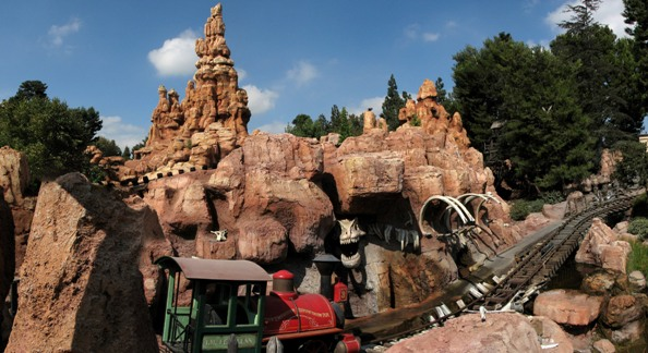 Big Thunder Train walt disney world