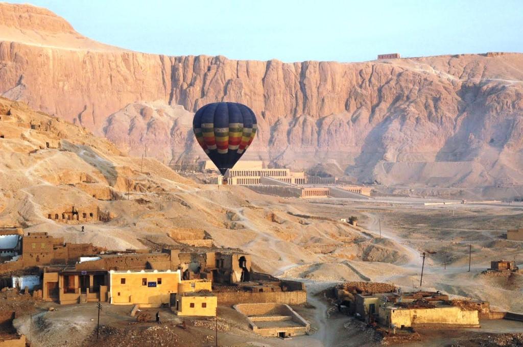 Egypt ballon ride
