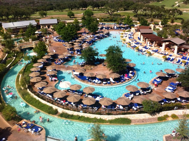 Hyatt regency hill country resort for Top spa resorts in texas
