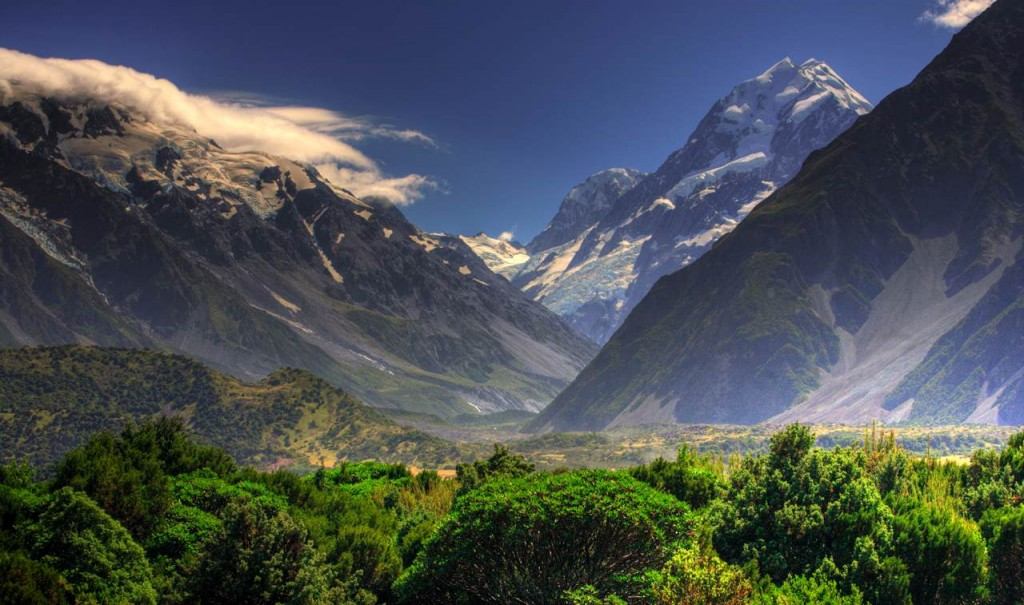 New Zeland mountains