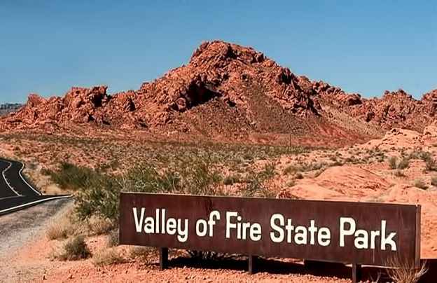 Valley of fire state park entrance