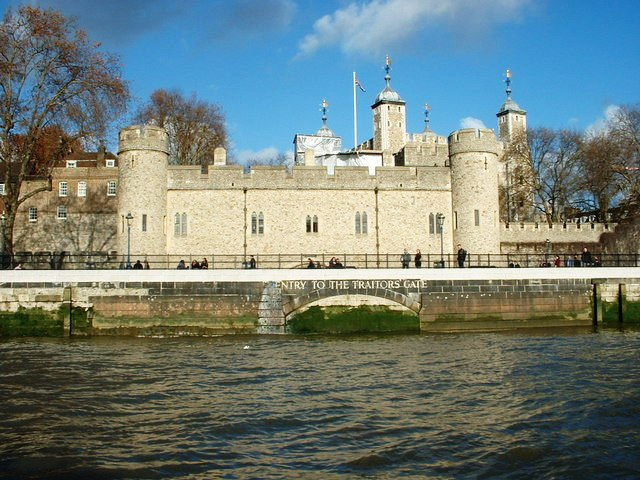 Tower of London Traitors Gate - Top Places to Visit in London
