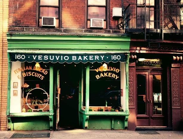 Vesuvio Bakery Soho NYC