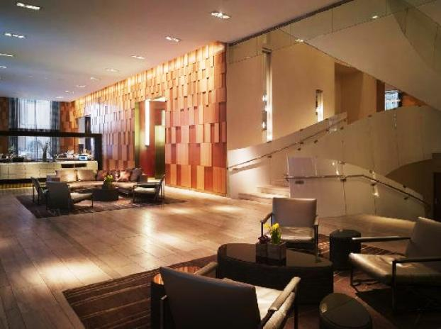 Andaz Wall Street lobby