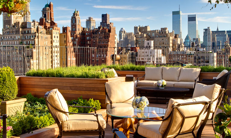 The Surrey Hotel New York City Roof Top