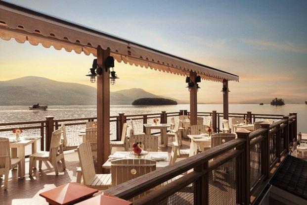 Sagamore Resort outdoor dining